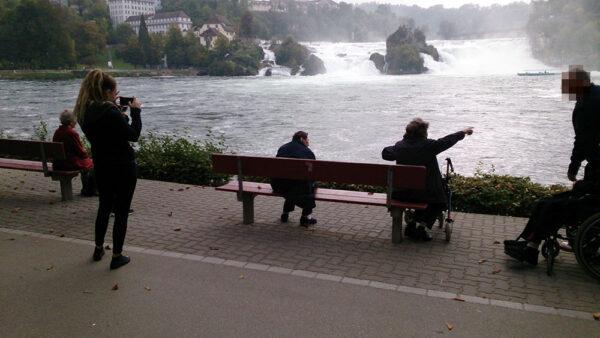 Begleitete Ausflüge mit den BewohnerInnen der Pflegewohnung Weitblick