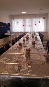 Aktivitäten über die Weihnachtszeit in der Pflegewohnung Weitblick in Winterthur