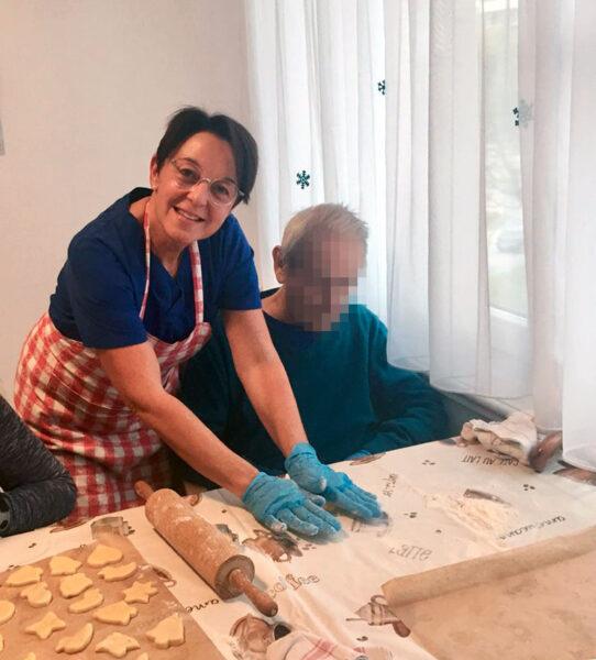 Aktivierung der BewohnerInnen in der Pflegewohnung Weitblick in Winterthur